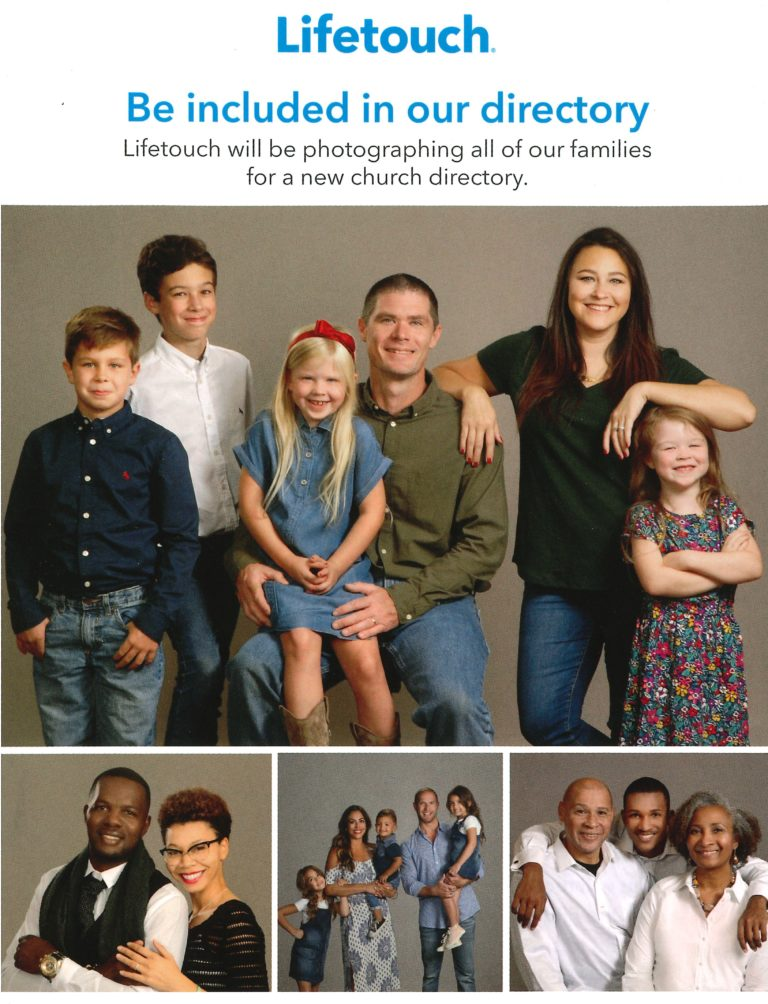 Church Directory Photography Sessions Sign-Up – The Chicago Temple